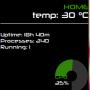 Linux Mint 17 QianaでConkyを使ってみよう♪